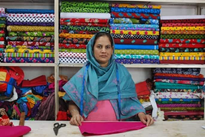Siddika Begum, a client of ASA (Bangladesh)
